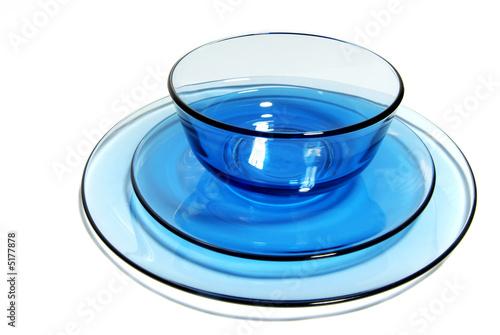 blaues geschirr von syb lizenzfreies foto 5177878 auf. Black Bedroom Furniture Sets. Home Design Ideas