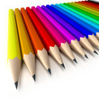 crayon color line D