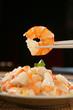 roleta: Shrimp on chopsticks