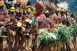 Papouasie, Cérémonie-danse