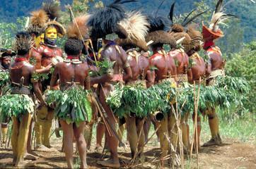 Sing-sing, Cérémonie Papoue à Mount Hagen