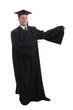 in robe
