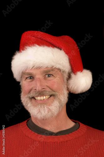 poster of Pleasant man in Santa Hat