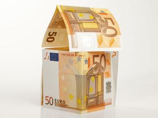 Haus / Geldscheine