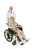 Wheelchair Senior & Doc poster