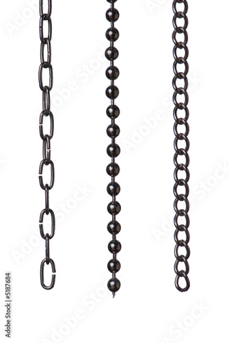 Three chain segments