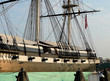 Постер, плакат: Landmark USS Constellation in Baltimore Maryland Harbor