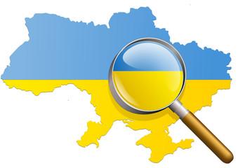 Etude de l'Ukraine (Drapeau)