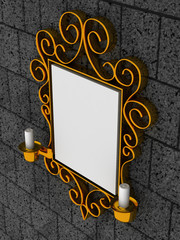 Abstract frame, ornament