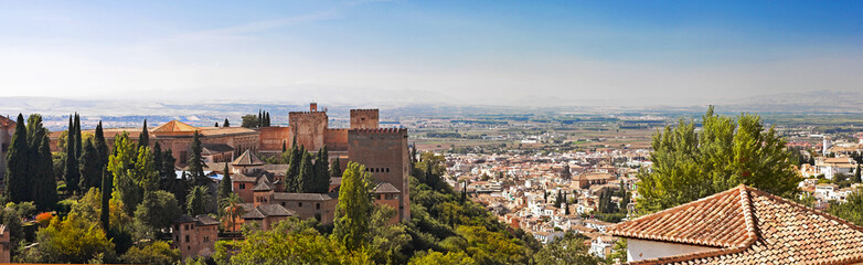 Spanish cityscape - the city of Granada