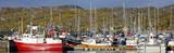 Boat in Bodo harbor - Norway poster
