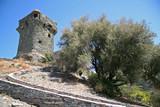 Fototapety Tour génoise de Nonza en Corse