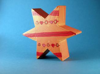 Stern aus Holz