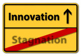 innovation stagnation poster