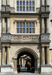 entrance to Bodleian library, Oxford University