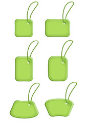 etichette verde