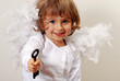 Angel giving you key to success