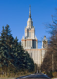 Moscow State University poster