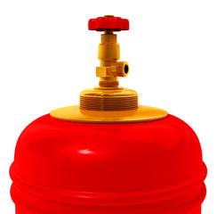 Gas bulb faucet