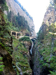 Via Mala, canyon in Switzerland