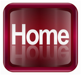 home icon, isolated on white background.