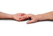Hände weiß