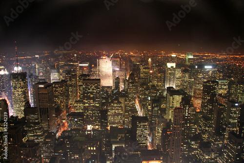 Blick über Manhattan Poster