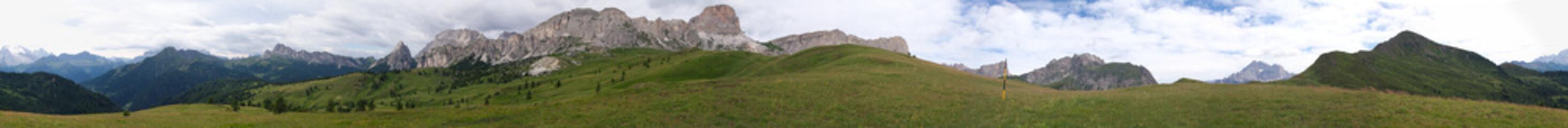 Dolomiten - 360° Panorama