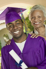 Graduate and Proud Grandmother