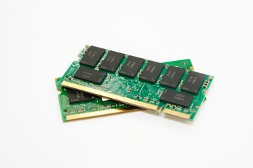 Two memory modules for laptop