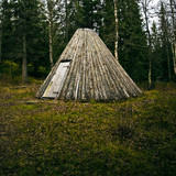 traditional sami teepee