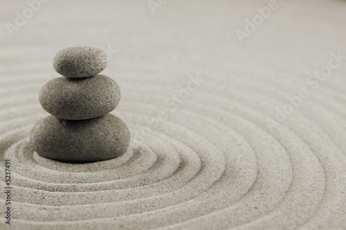 Leinwanddruck Bild Balance