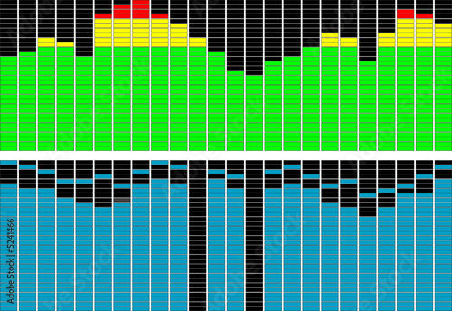 editable equalizer spectrum