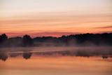 morning sunshine on the lake poster