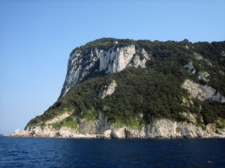 Island Cliffs on Capri