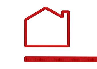 casa su misura rossa