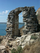 Ruins of an ancient stone arch (Kaliakra - Bulgaria)