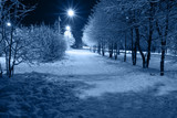 Fototapety Night town