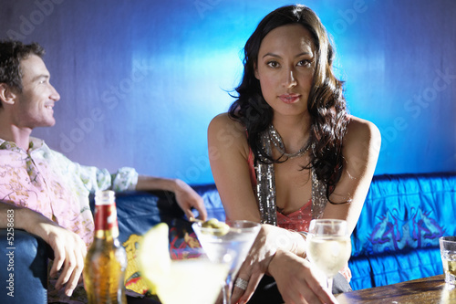 Woman at Bar