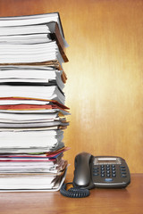Stack of Files and Reports