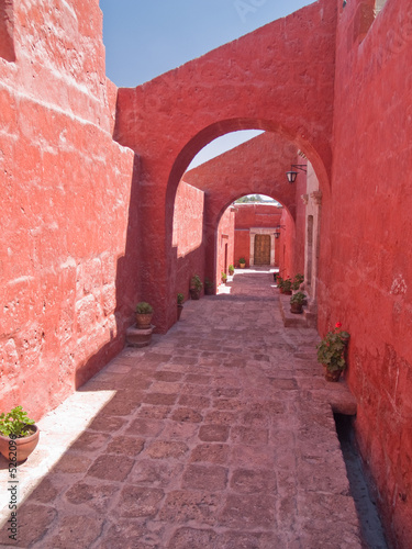 Monastery of St. Catherine at Arequipa, Peru