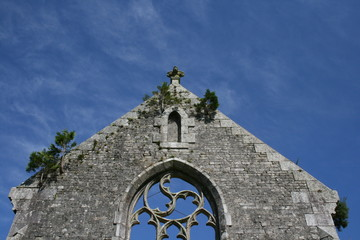église,bretagne ,triskel