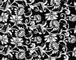 roleta: Floral ornament