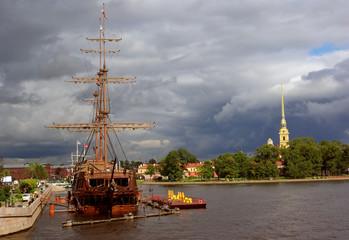 St.Petersburg, Russia, Petropavlovskaya Castle
