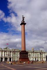 St.Petersburg, Russia, Dvorzovaya square