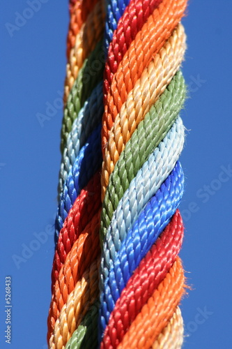 Colourful rope..