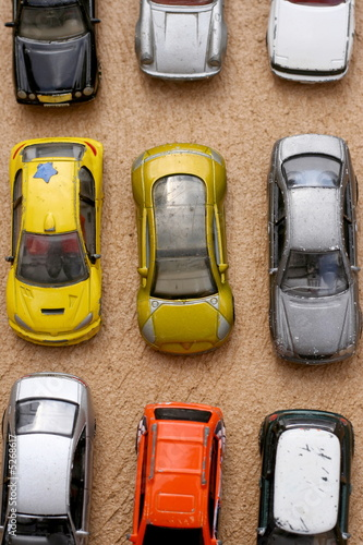Matrix of cars..