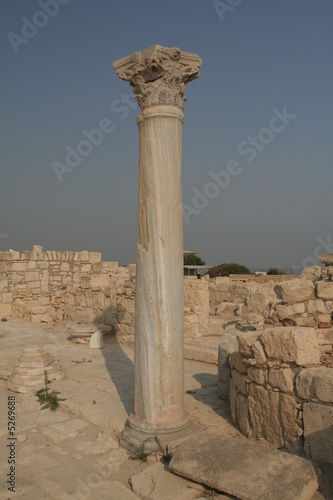 Columns in Pafos