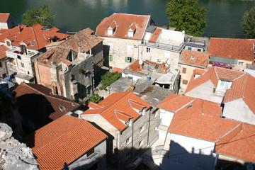 Häuser von oben