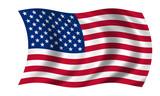 Fototapety usa fahne united states flag